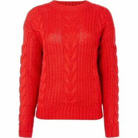 Vero Moda Alpine Crew Neck Cable Jumper