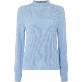 Gant Ribbed Mock Neck Jumper