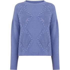 Oasis Bobble Stitch Cable Jumper