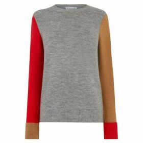 Warehouse Soft Colourblock Jumper