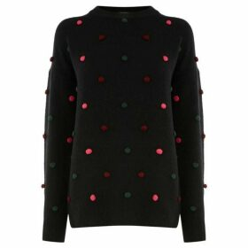 Warehouse Pom Pom Jumper