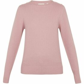 Ted Baker Long Sleeve Textured Stitch Jumper