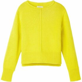 Sandwich Side Split Bright Jumper