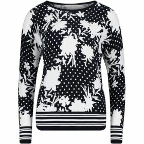 Betty Barclay Floral Print Jumper