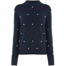 Warehouse Multi Bead Embellished Jumper
