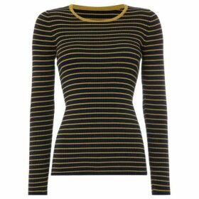 Linea Stella stripe crew neck jumper