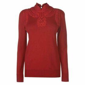 Biba Batternburg knit jumper