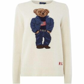 Polo Ralph Lauren Bear Print Jumper