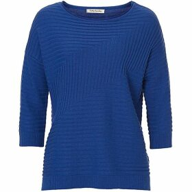 Betty Barclay Chevron ribbed jumper