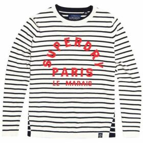 Superdry Le Marais Stripe Knit Jumper