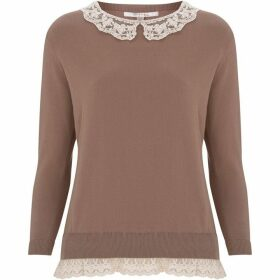 Nougat Buttercup Collar Jumper
