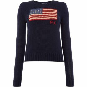 Polo Ralph Lauren Long sleeve flag Jumper