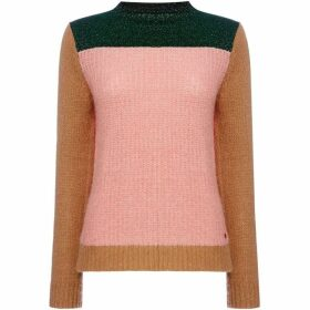 Maison Scotch Colour block jumper