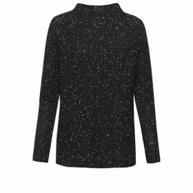 Great Plains Speckle Knit Poloneck Jumper