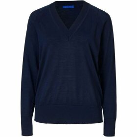 Winser London Merino Wool V Neck Jumper