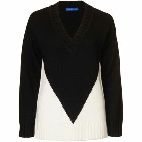 Winser London Colour Block Jumper