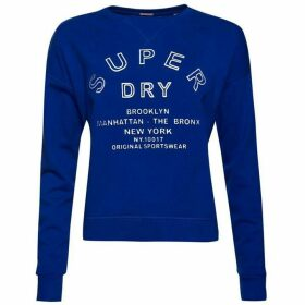 Superdry Embossed Sport Code Crew Jumper