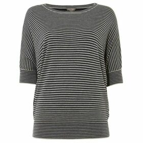 Phase Eight Mix Stripe Becca Batwing Jumper