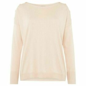 Marella Achille jumper with shoulder detail button