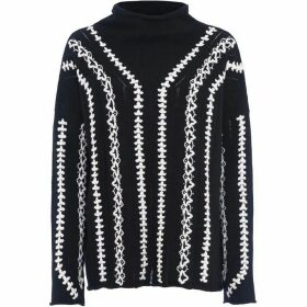 French Connection Ella Embroidered Jumper