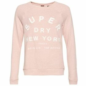 Superdry Applique Raglan Crew Jumper