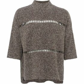 French Connection Mozart Marl Oversized Jumper