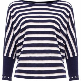 Damsel in a Dress Neeva Stripe Shimmer Knitted Jumper