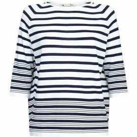Yumi Stripe Relaxed Fit Jumper