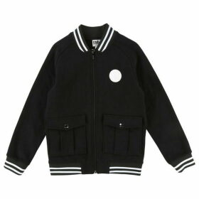 Karl Lagerfeld Boy Black Cardigan