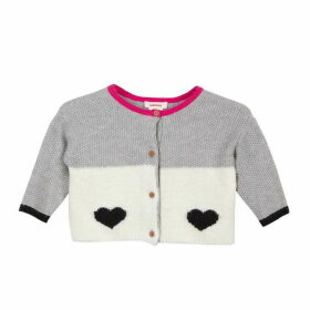 Catimini Reversible Woolly Cardigan