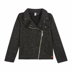 3 Pommes Kid Girl Black Cardigan