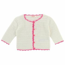 Billieblush Baby Girl Crocheted Cardigan
