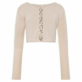 Billieblush Girl Knitted Cropped Cardigan