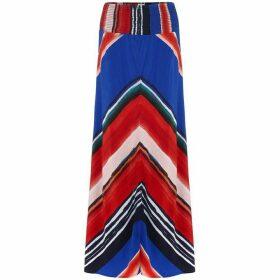 Phase Eight Cersi Chevron Maxi Skirt