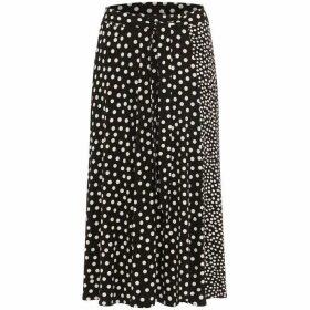 Phase Eight Sallie Mixed Spot Skirt