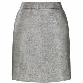 Warehouse Metallic Woven Pelmet Skirt