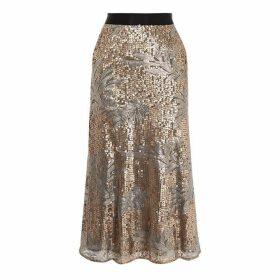 Coast Jana Sequin Skirt