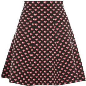 Oasis Maggie Heart Knitted Skirt