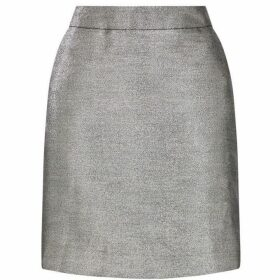 Warehouse Metallic Pelmet Skirt
