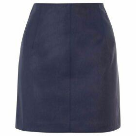 Oasis Faux Leather Mini Skirt