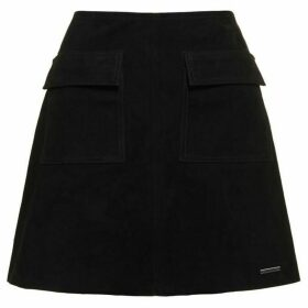 Superdry Premium Billie Suede Pocket Skirt
