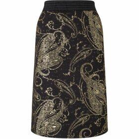 James Lakeland Gold Print Skirt