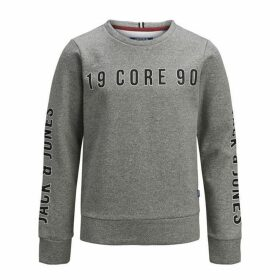 Jack and Jones & Jones Junior Large Logo Crew Sweat