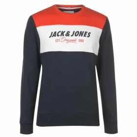 Jack and Jones Jack Logo Sweater Mens