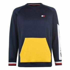 Tommy Sport Colour Block Pocket Sweater