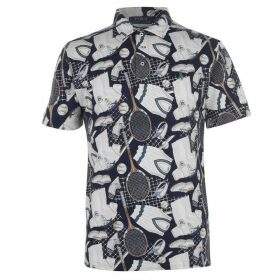 Polo Ralph Lauren Wimbledon M1 Print Polo Shirt