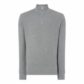 Gant Halfcomb Half Zip Sweater
