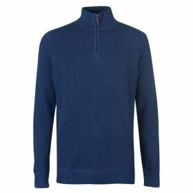 Howick Ezra Funnel Neck Sweater Mens