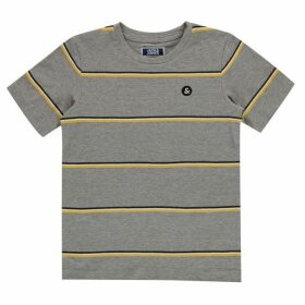 Jack and Jones Junior Multi Stripe Tee