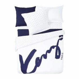 Kenzo Signe Square Oxford Pillowcase